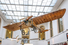 DRESDEN, GERMANY - MAI 2015: Early Airplane Bleriot XI 1909 in D Royalty Free Stock Photography