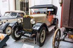 DRESDEN, GERMANY - MAI 2015: Pilot 6 30 1926 in Dresden Transpor Royalty Free Stock Images