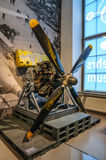 DRESDEN, GERMANY - MAI 2015: russian plane engine in Dresden Tra Royalty Free Stock Photography