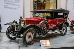 DRESDEN, GERMANY - MAI 2015: Simson Supra SO 1925 in Dresden Tra Royalty Free Stock Images