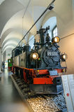 DRESDEN, GERMANY - MAI 2015: steam locomotive 99 535 Hartmann Ch Stock Images