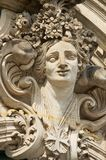 Sculpture in the famous Zwinger Palace and Park Complex in Dresden, Germany. Royalty Free Stock Image