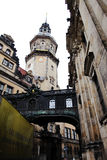 DRESDEN, GERMANY - MAY 10: View of the historic center (altstadt) of the Saxony city Stock Photography