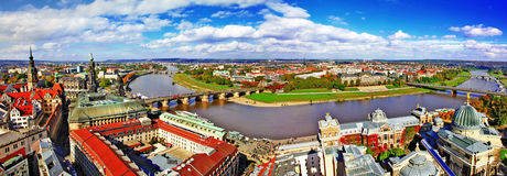 Dresden,Germany. panorama Stock Images