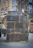 Dresden Germany. part of the wall Stock Photos