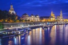 Dresden, Germany Skyline Royalty Free Stock Image