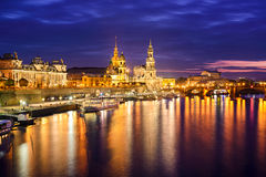 Dresden Germany Skyline Stock Photos