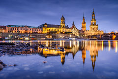 Dresden Germany Skyline Stock Images
