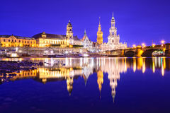 Dresden, Germany Skyline Stock Images
