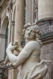 dresden germany slottzwinger Skulptur och arkitektur detaljer Royaltyfria Foton