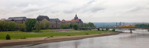 dresden germany Sorter av staden center historiskt Fotografering för Bildbyråer
