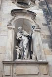 Dresden, Germany. Statues and monuments royalty free stock photo