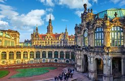Dresden Germany Zwinger Palace Royalty Free Stock Photo