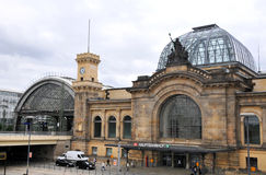 Dresden Hauptbahnhof - Royalty Free Stock Image