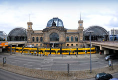Dresden Hauptbahnhof Royalty Free Stock Photo