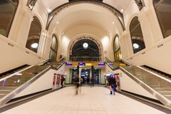 Dresden-Hauptbahnhof Lizenzfreies Stockfoto