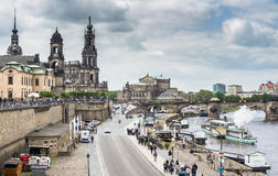 Dresden HDR Royalty Free Stock Photo