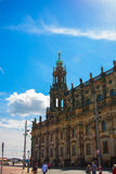Dresden Historical and cultural center Europe. Royalty Free Stock Image