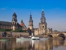 Dresden Hofkirche Imágenes de archivo libres de regalías