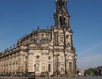 Dresden Hofkirche Imagen de archivo