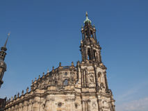 Dresden Hofkirche Royalty Free Stock Photography