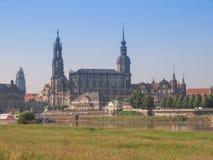 Dresden Hofkirche Stock Photos