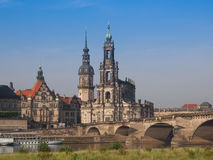 Dresden Hofkirche Stock Images