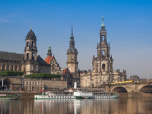 Dresden Hofkirche Stock Image