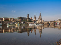 Dresden Hofkirche Royalty Free Stock Photos