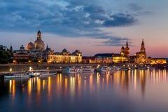 Dresden horisont Royaltyfri Bild