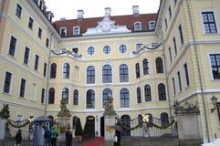 Dresden hotellTyskland Royaltyfri Fotografi