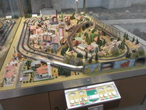 Dresden huvudsaklig järnvägsstation, Tyskland Arkivbilder