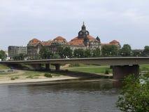 Dresden i Sachsen Royaltyfria Foton
