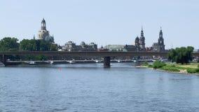Dresden i Sachsen Arkivfoton