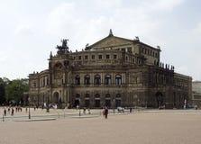 Dresden i Sachsen Arkivfoto