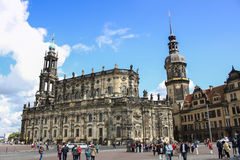 Dresden Katholische Hofkirche 02 Stock Images
