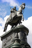 Dresden King Johann monument 02 Stock Photo