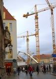 Dresden konstruktionsplats Royaltyfri Foto
