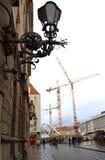 Dresden konstruktionsplats Royaltyfri Bild