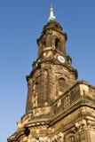 Dresden Kreuzkirche royalty free stock images