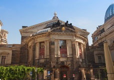 Dresden Kunstakademie Stockbild