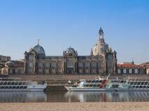 Dresden Kunstakademie Stock Images