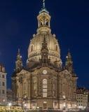 Dresden kyrka Royaltyfri Bild