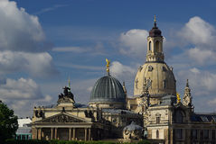 Dresden kyrka av vår Lady 16 Arkivfoton