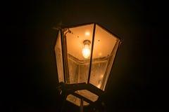 dresden lampgata Royaltyfria Bilder