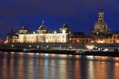 Dresden landmarks Stock Photos