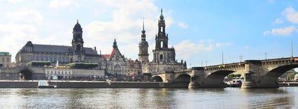 Dresden landmarks Stock Images