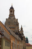 Dresden. The magnificent old town on the river Elbe Stock Photos