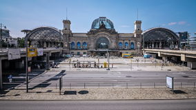 Dresden Main Station Time Lapse. Sequence stock video