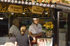 Dresden market Royalty Free Stock Photo
